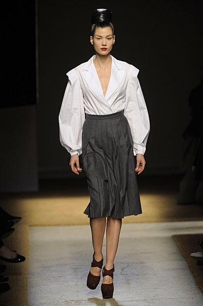 Yves Saint Laurent: Back in the Black for Fall 2009