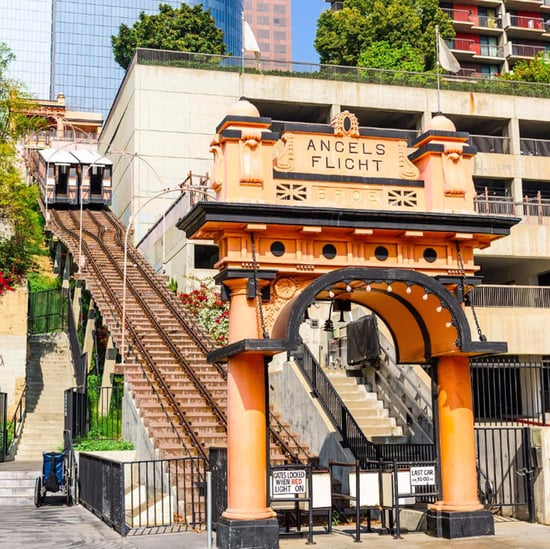Angels Flight Funicular in LA