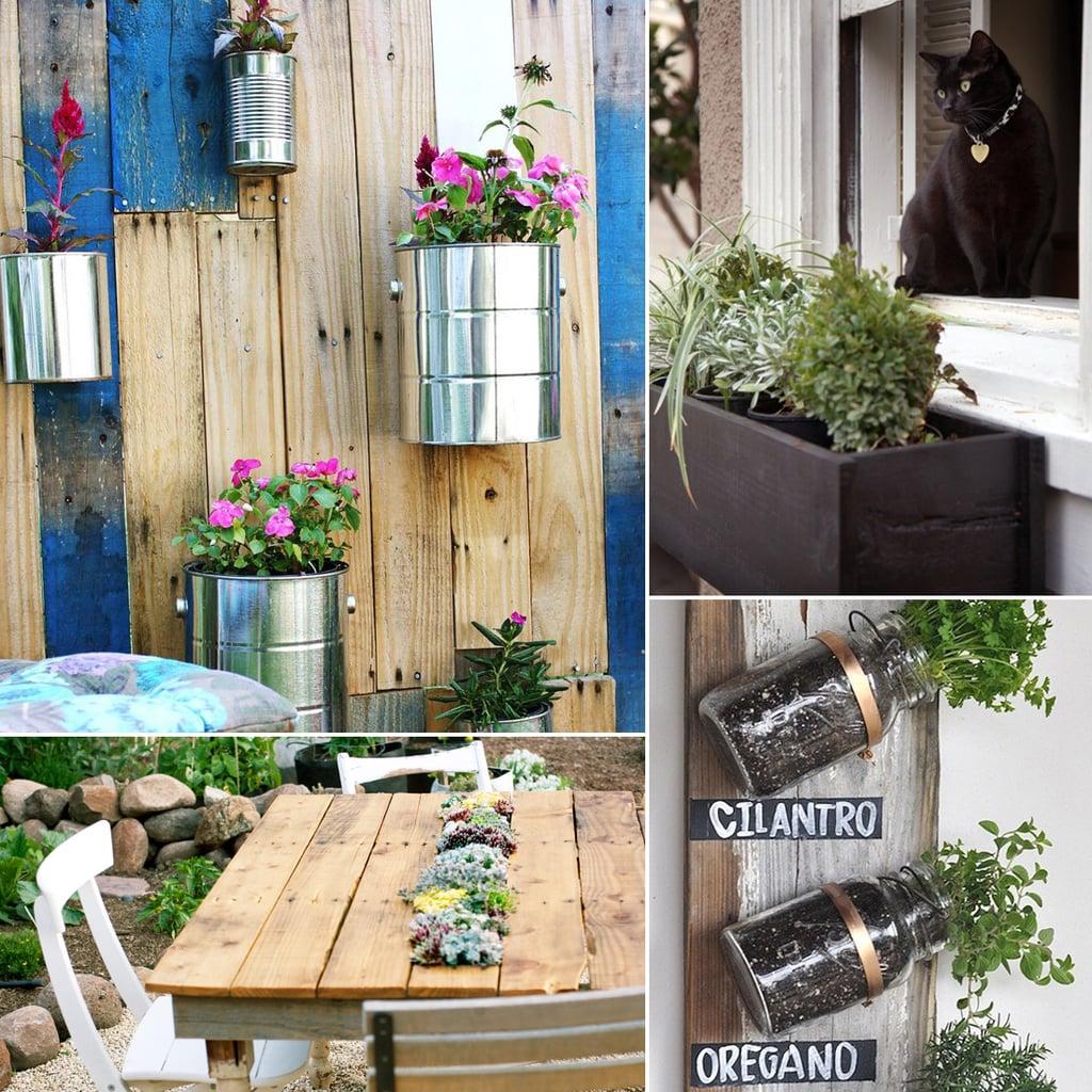 Small Space Garden Ideas: Small-Space Gardening DIYs