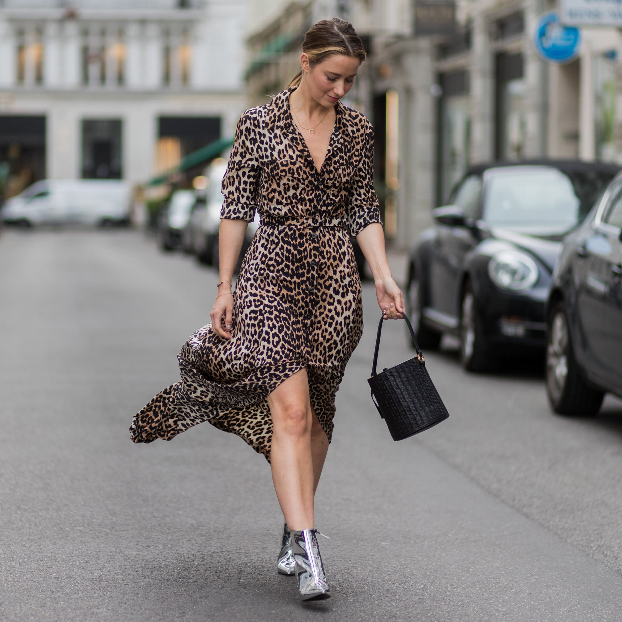 1c664cd64e Animal-Print Dresses 2019 | POPSUGAR Fashion