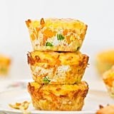 Bell Pepper, Corn, and Pea Cheesy Mini Frittatas