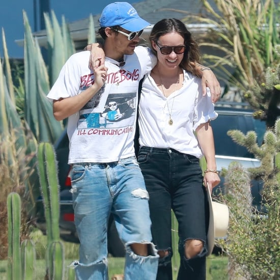 Harry Styles and Olivia Wilde Wearing Matching Outfits in LA