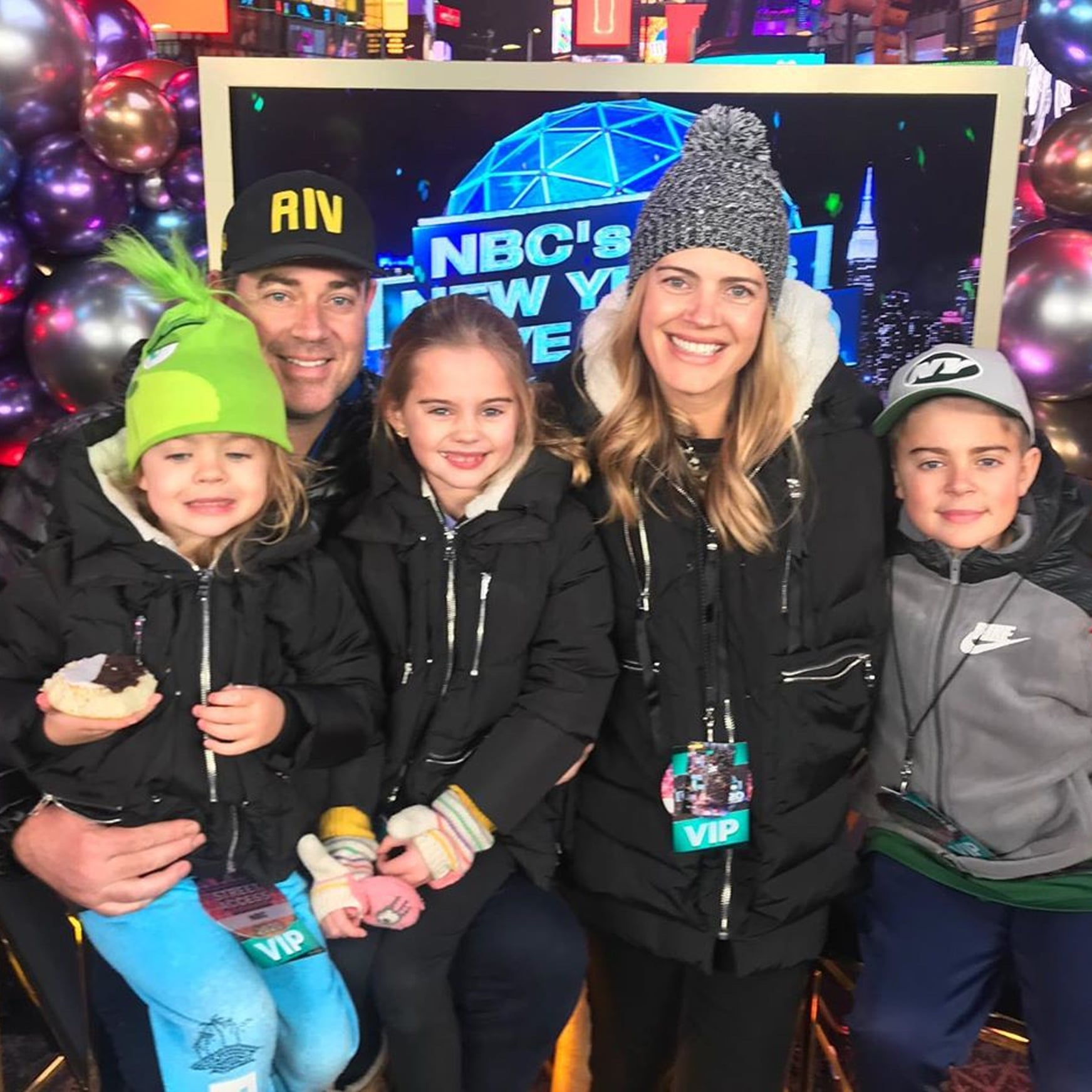 How Many Kids Does Carson Daly Have Popsugar Family