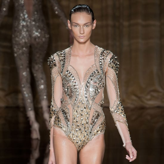 2014 Spring London Fashion Week Runway Julien Macdonald