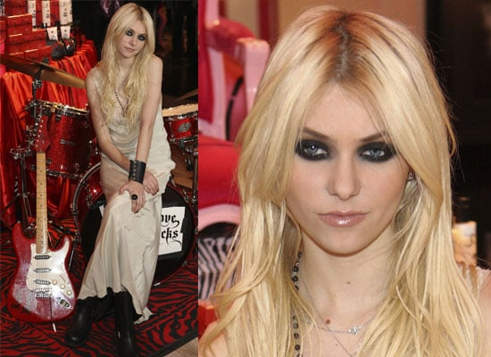 Photos of Taylor Momsen at Love Rocks Fragrance Launch
