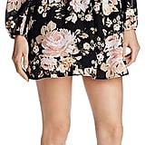 Sadie & Sage Floral Print Lace-Up Dress