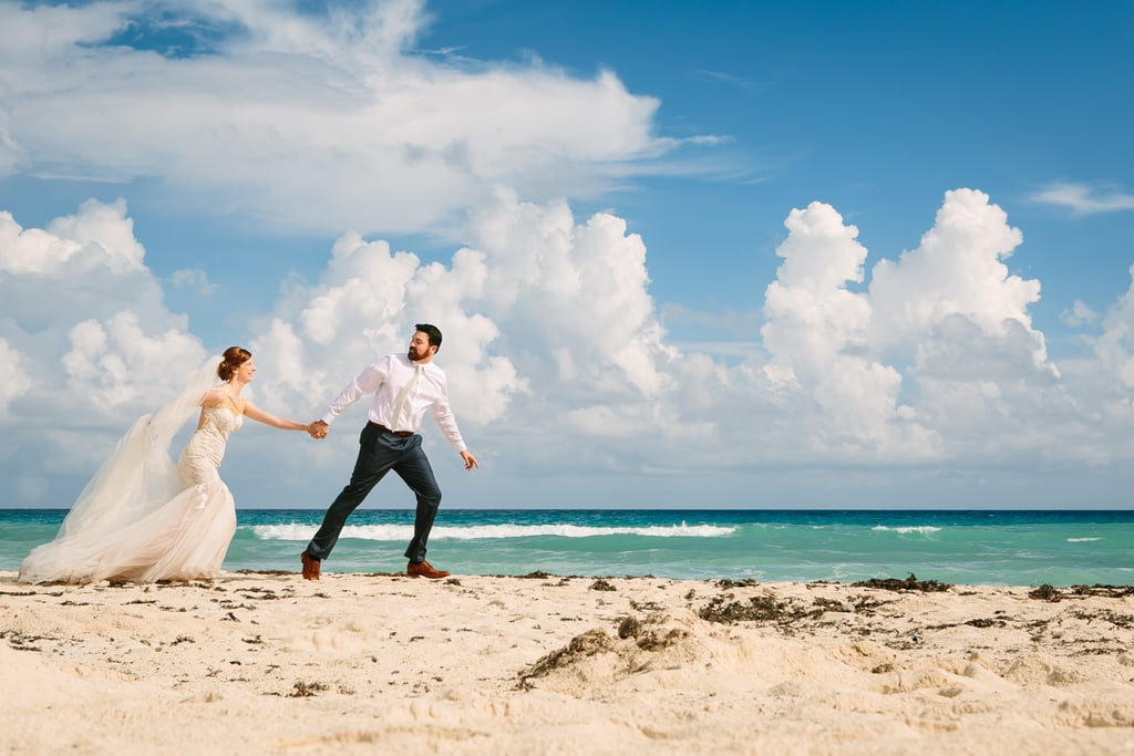 Emily and David's beach wedding was one of photographer Amy Gawlik's favorite weddings of 2015.