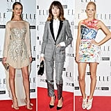 How gorgeous did Rosie Huntington-Whiteley look at Elle's Style awards? Check out her look, plus Alexa Chung's and more.