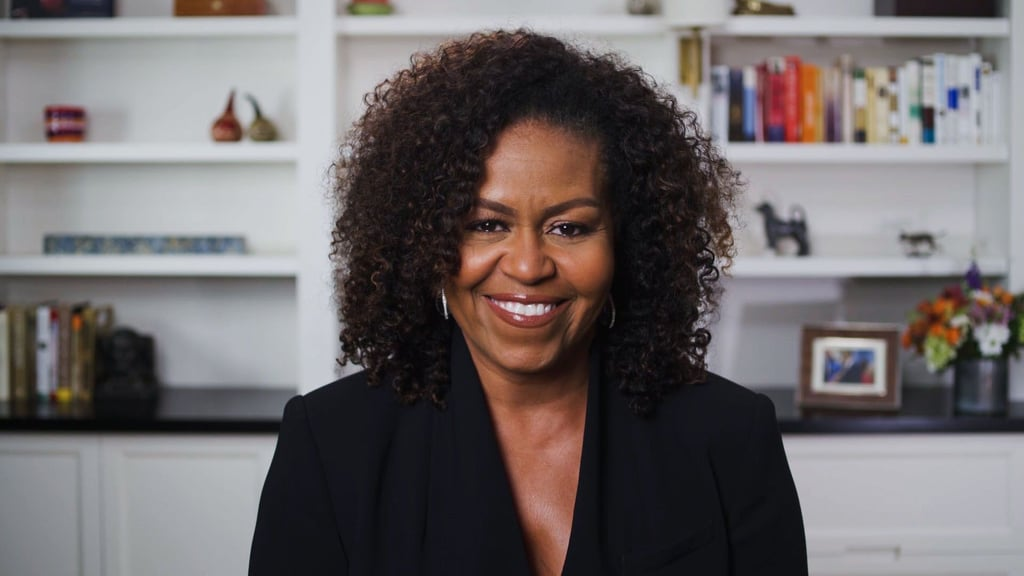 Michelle Obama at the 2020 BET Awards