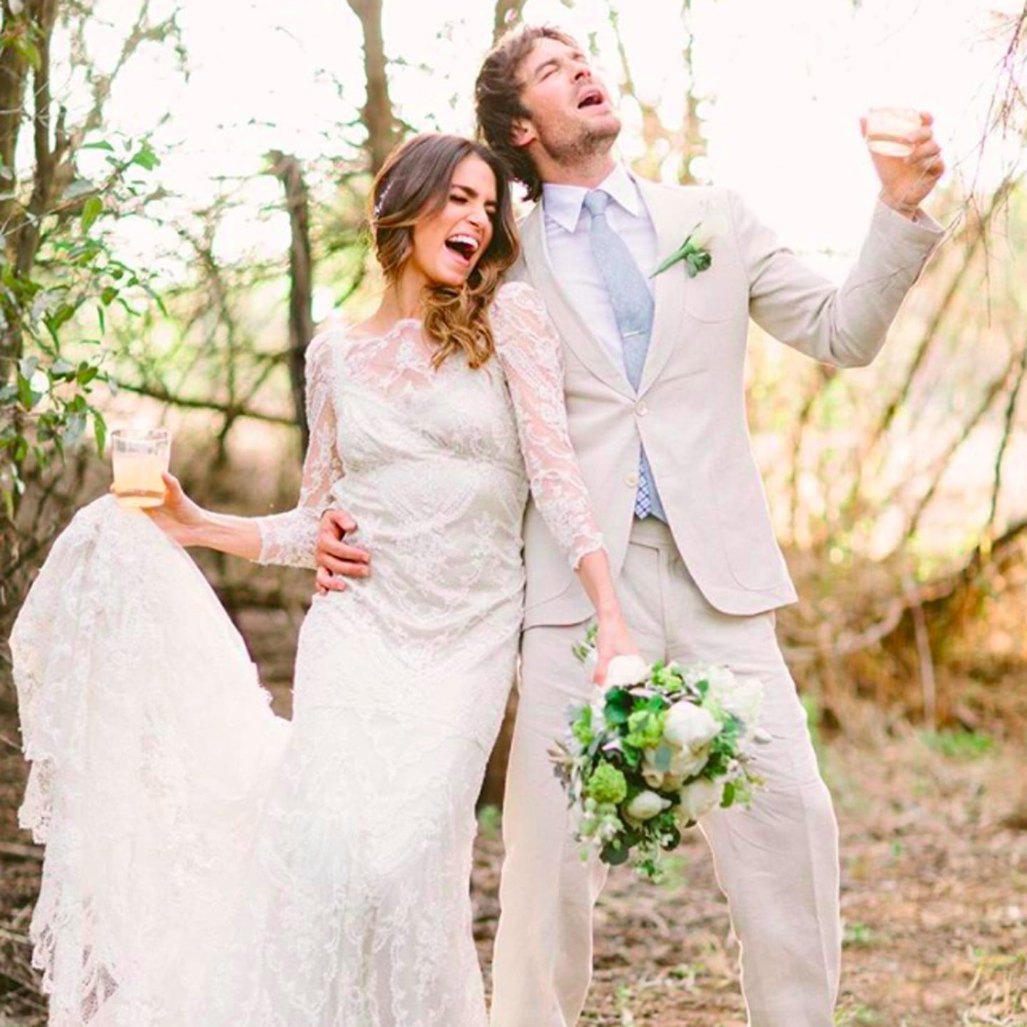Ian somerhalder and nikki reed wedding details popsugar celebrity junglespirit Images
