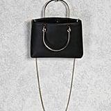 Forever 21 Metallic Handle Crossbody Bag