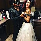 The Phantom of the Opera and Christine