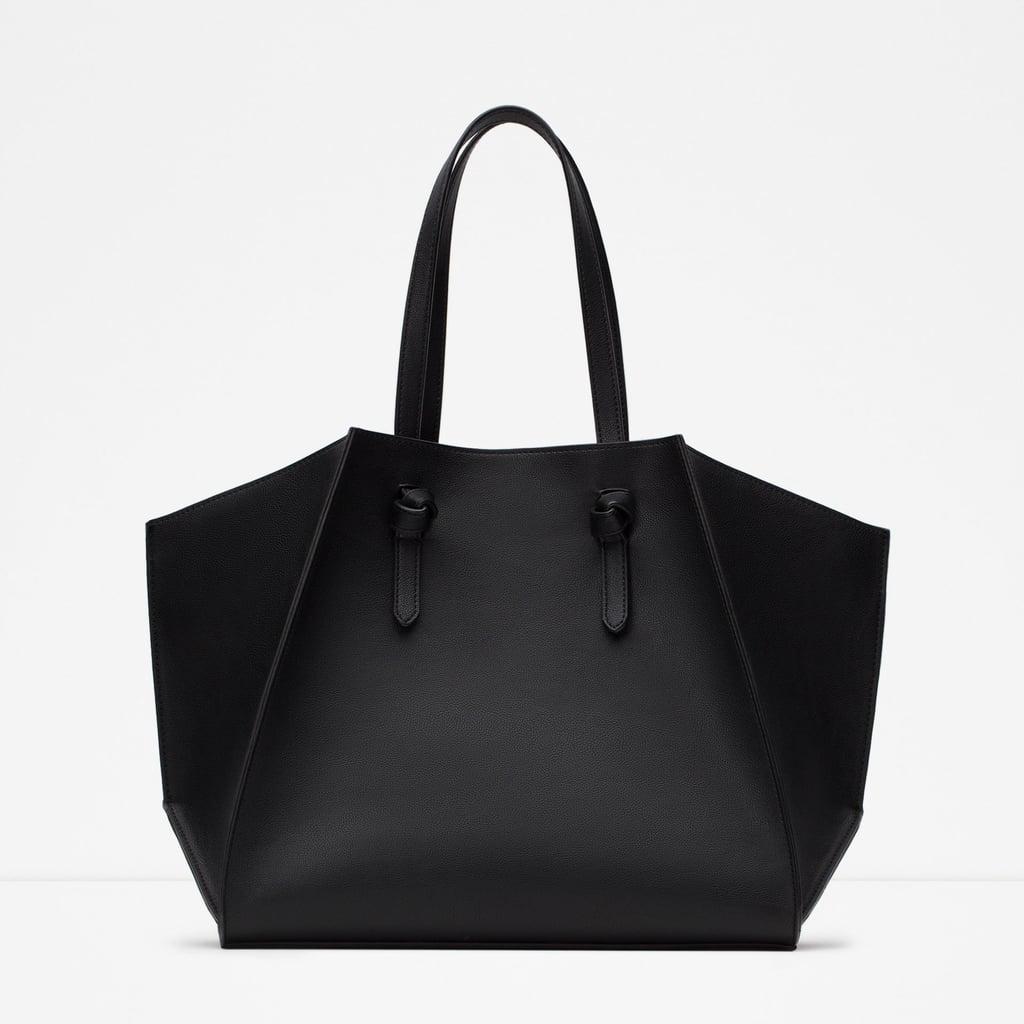 Zara Geometric Tote ($40)