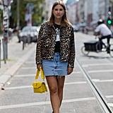 Wear It With a Leopard-Print Jacket