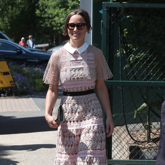 Pippa Middleton Self-Portrait Dress at Wimbledon