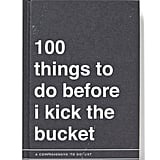 Typo Bucket List Journal, $19.99