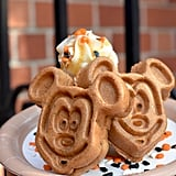 Pumpkin Mickey Waffles