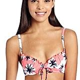 Seafolly Women's Palm Springs Tie-Front Bustier Bikini Top