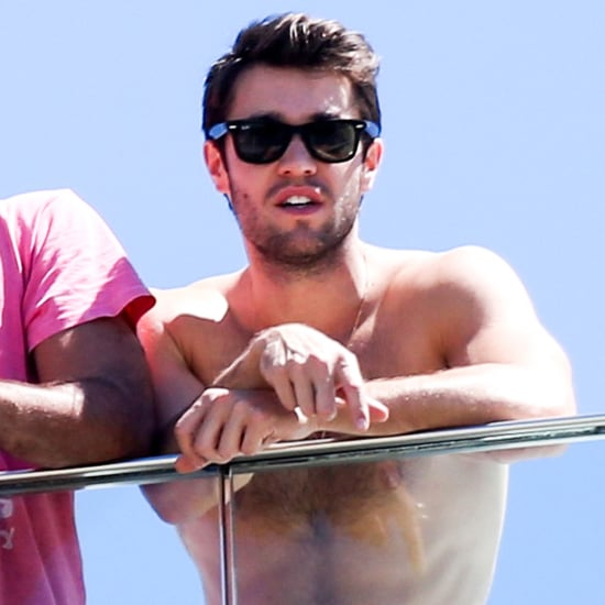 Joshua Bowman Shirtless in Rio | Pictures