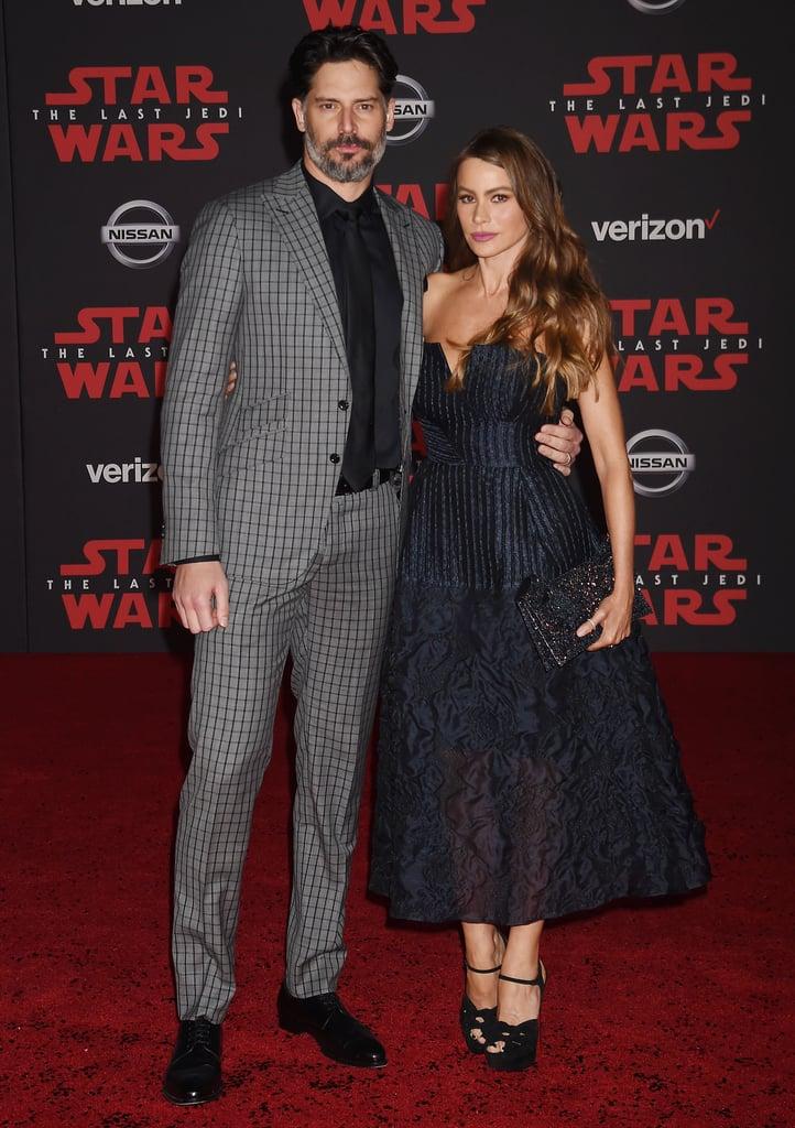 Joe Manganiello and Sofia Vergara Attended the Premiere of Star Wars: The Last Jedi