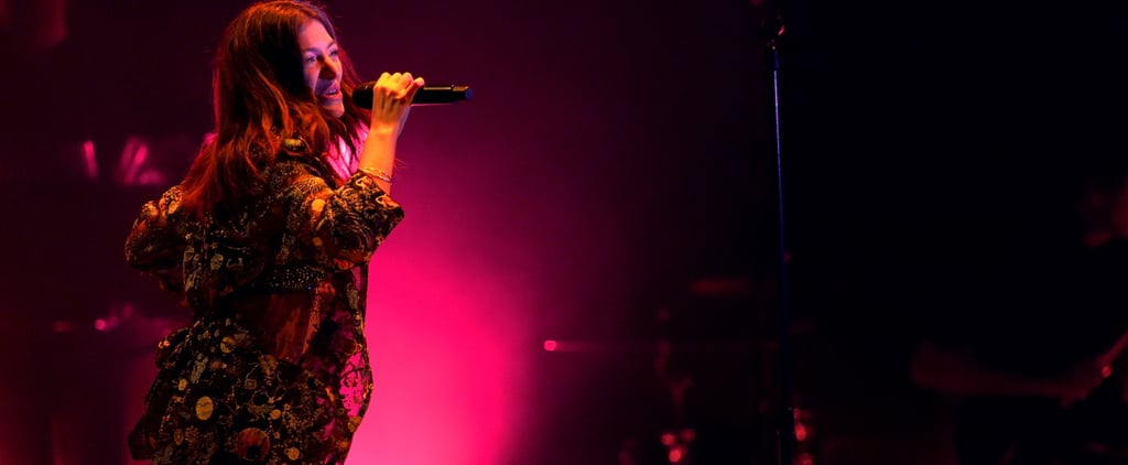 "Lorde's Kanye West ""Love Lockdown"" Cover in Chicago"