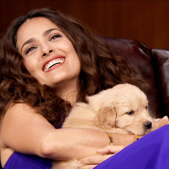 "Salma Hayek's ""Pup Quiz"" on The Tonight Show"