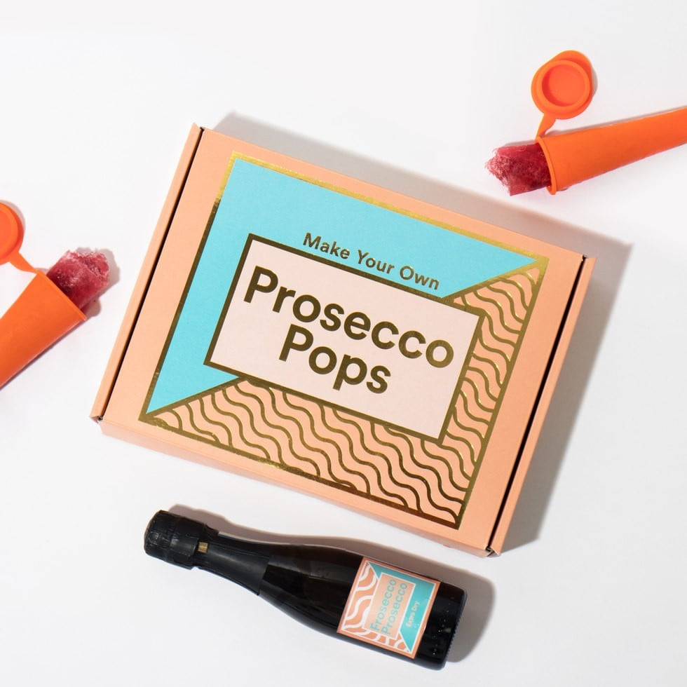 Make Your Own Prosecco Pops