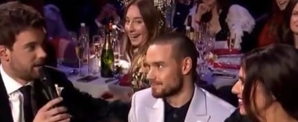 Este Haim Interrupts Cheryl and Liam Payne at Brits 2018