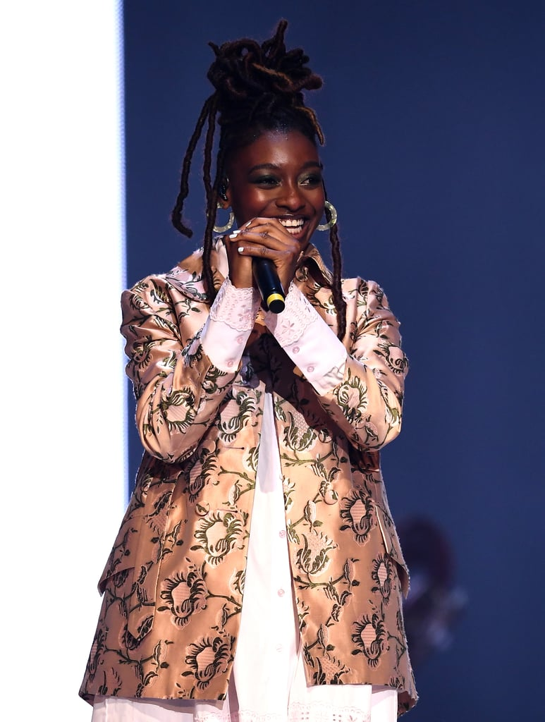 Little Simz Performing at the British Fashion Awards 2019 in London