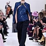 Kaia Gerber on the Valentino Fall 2020 Runway at Paris Fashion Week