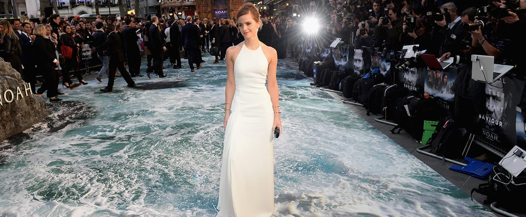 Emma Watson Walks on Water!