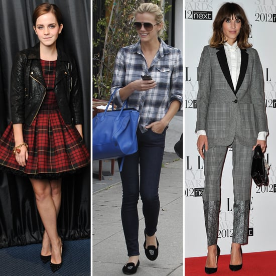 Celebs in Plaid — 9 Ways to Work the Classic Print
