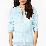 Subtle quilting details add a textural touch to this sweet Nasty Gal Cloud Control bomber jacket ($68).