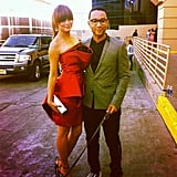 John Legend and Chrissy Teigen made a hot couple at the Billboard Music Awards.  Source: Instagram user johnlegend