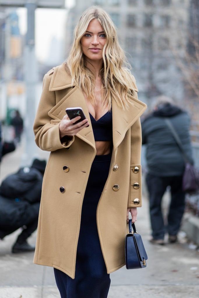 Beauty Street Style New York Fashion Week Fall 2017 Popsugar Beauty Australia