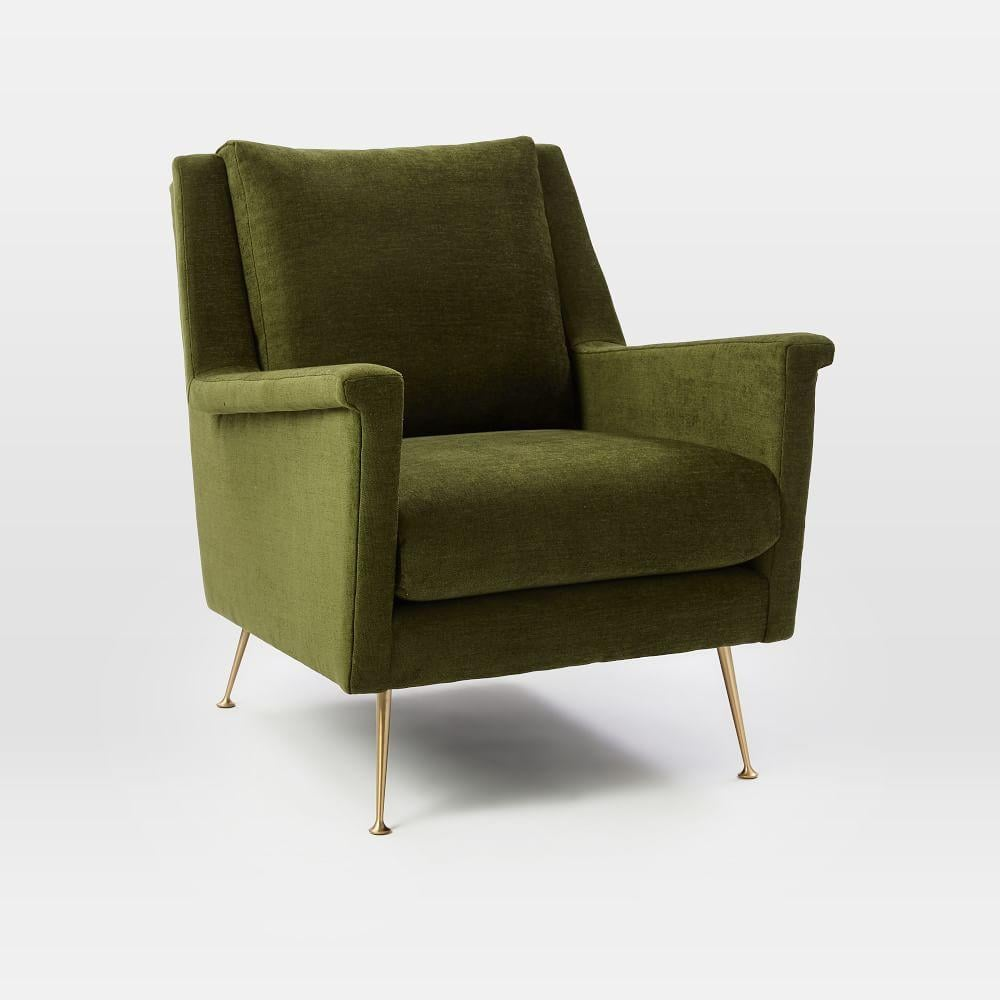West Elm Chairs: Home Decor Green Colour Trend 2018