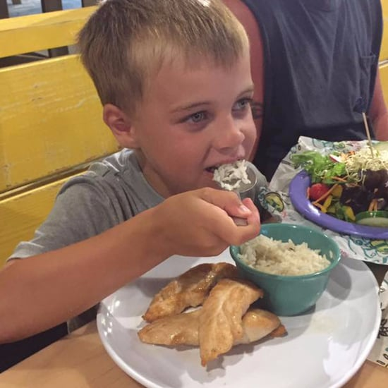 Boy With Life-Threatening Food Allergies Eats at Restaurant