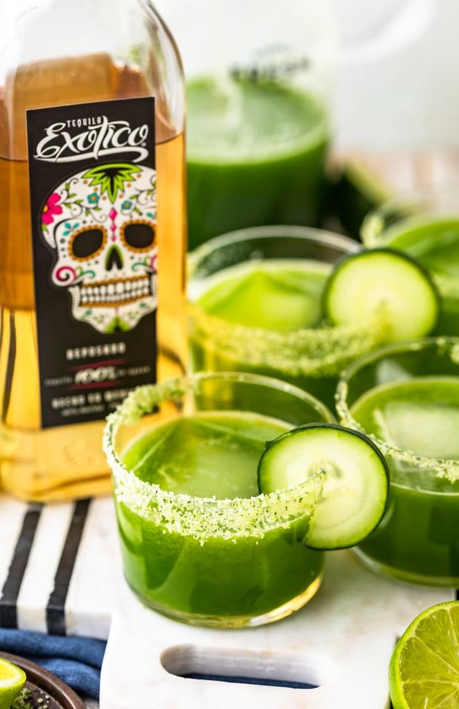 Spicy Cucumber Jalapeño Margarita