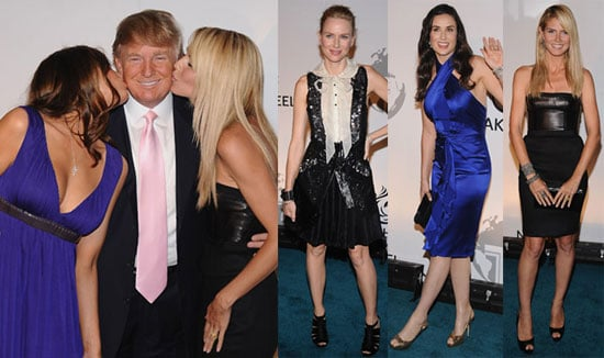 Photos of Celebrities like Heidi Klum and Demi Moore at Trump International Hotel and Tower Dubai Party in NYC