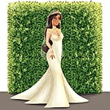 Jasmine Is Bejewelled and Beautiful in a Long-Sleeved Wedding Gown