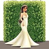 Jasmine as a Bride