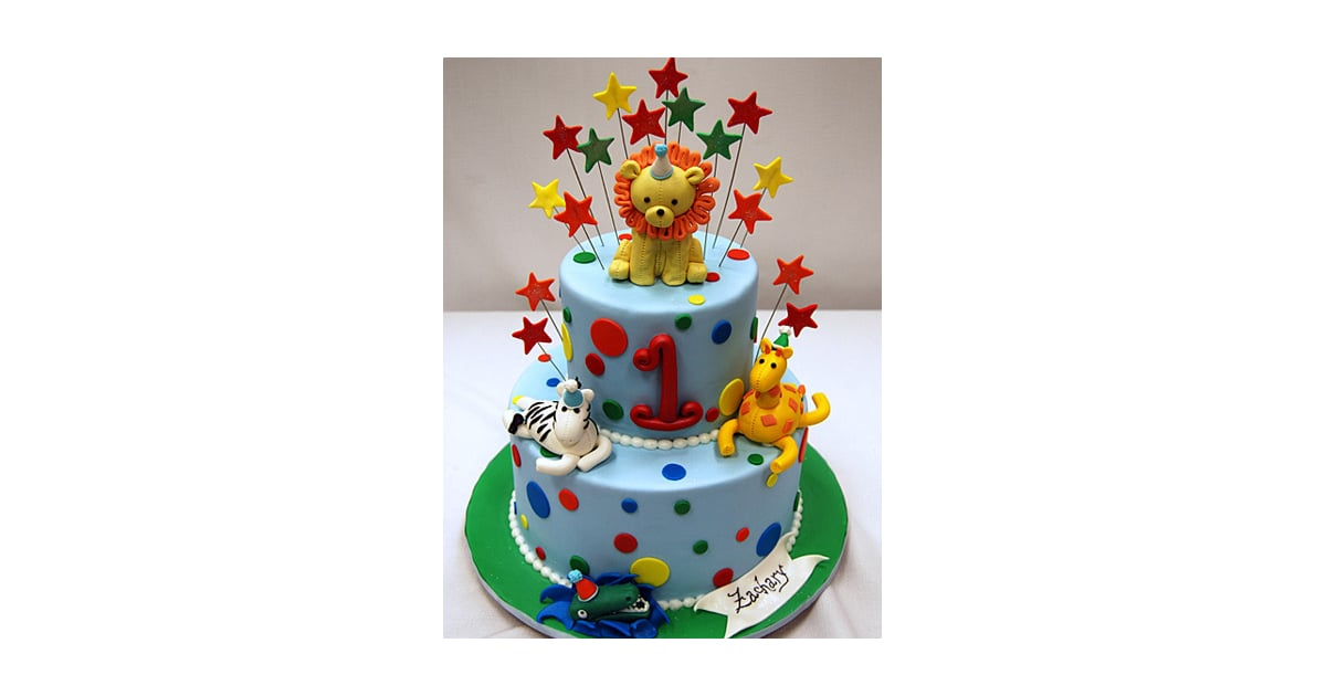 Fun Animal Birthday Cake Birthday Cakes For Boys