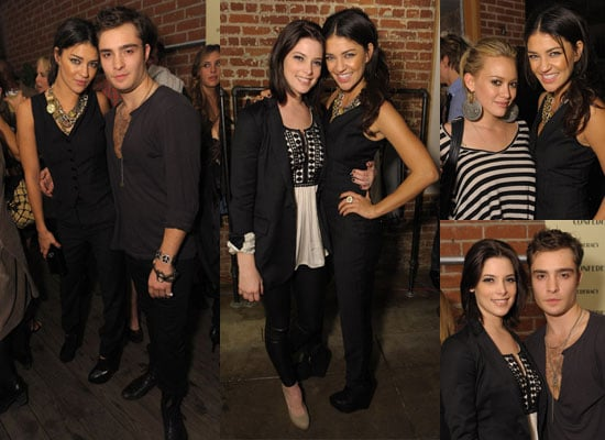 Photos of Ed Westwick Party