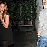 Lauren Conrad and Derek Hough left LA's Playhouse.