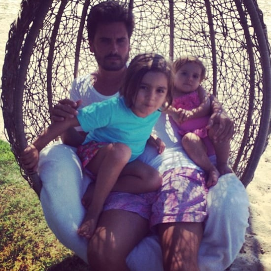 Kourtney Kardashian's Cute Family Pictures
