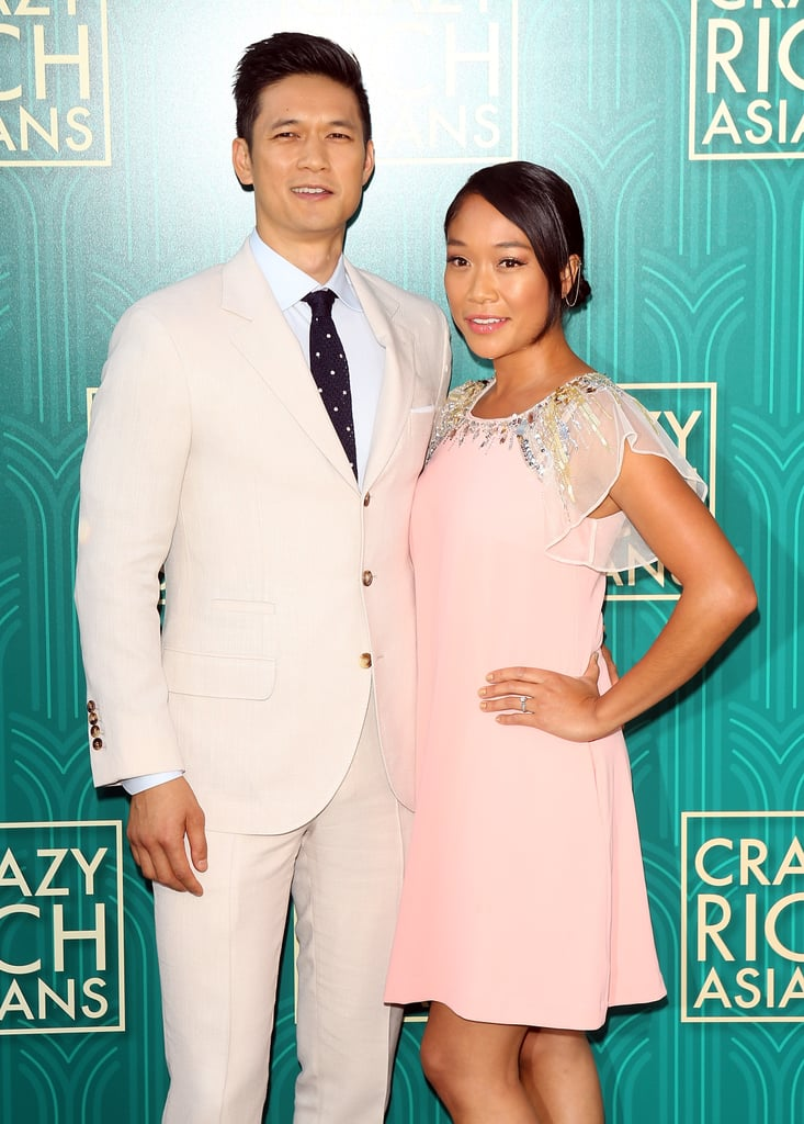 Harry Shum Jr. has been one of our TV crushes for a while now with his roles on Glee and Shadowhunters, but offscreen, he's happily taken. In November 2015, the 36-year-old married fellow actress and dancer Shelby Rabara during a romantic ceremony near Costa Rica. While they've only been married for two years, they've actually been together for much longer. The two first started dating in 2007 (yes, before he was cast as Mike Chang on Glee) and eventually got engaged in October 2013 during a trip to Hawaii. Over the years, the pair have given us a few glimpses of their adorable love. In addition to walking the red carpet together — including the recent premiere of Crazy Rich Asians — the two are always sharing cute photos of each other on Instagram. Get ready to fall in love with Harry all over again as you look through some of his cutest snaps with his wife.