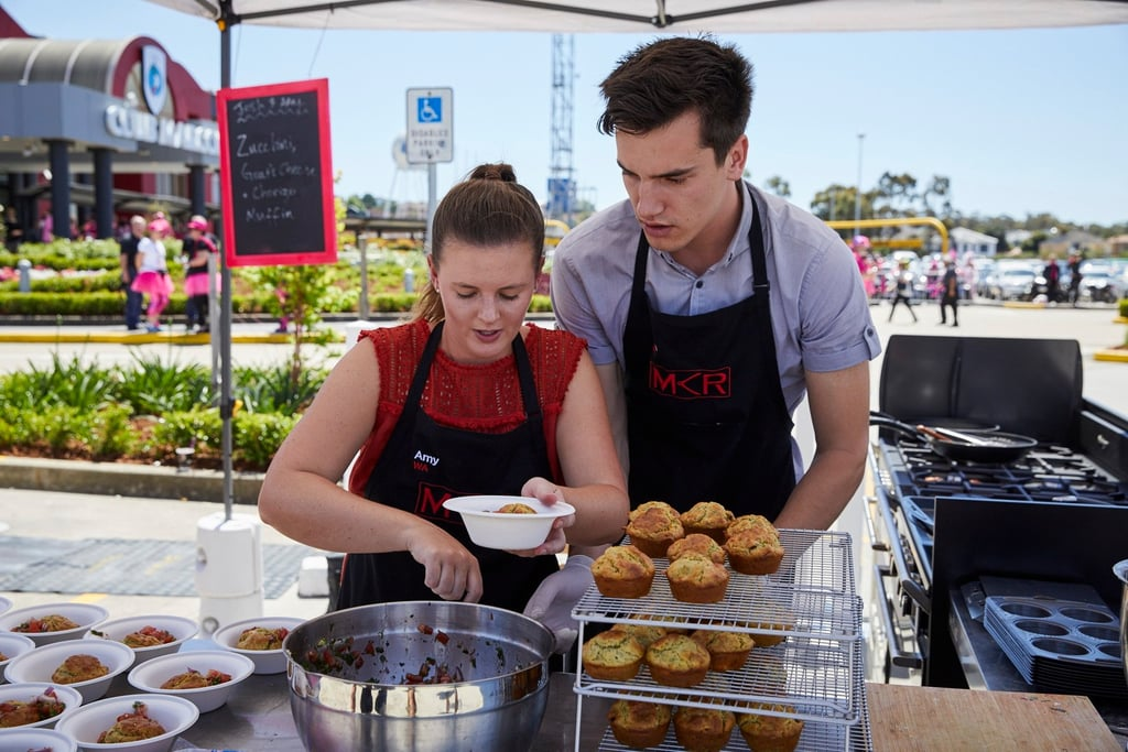 Josh and Amy Relationship on My Kitchen Rules 2017