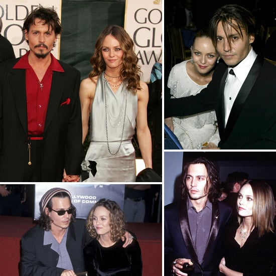 Johnny Depp and Vanessa Paradis — the Way They Were