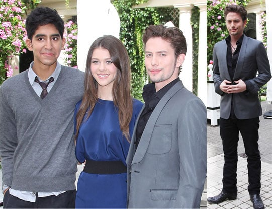 Pictures of Dev Patel, Jackson Rathbone, Nicola Peltz in Paris Promoting The Last Airbender