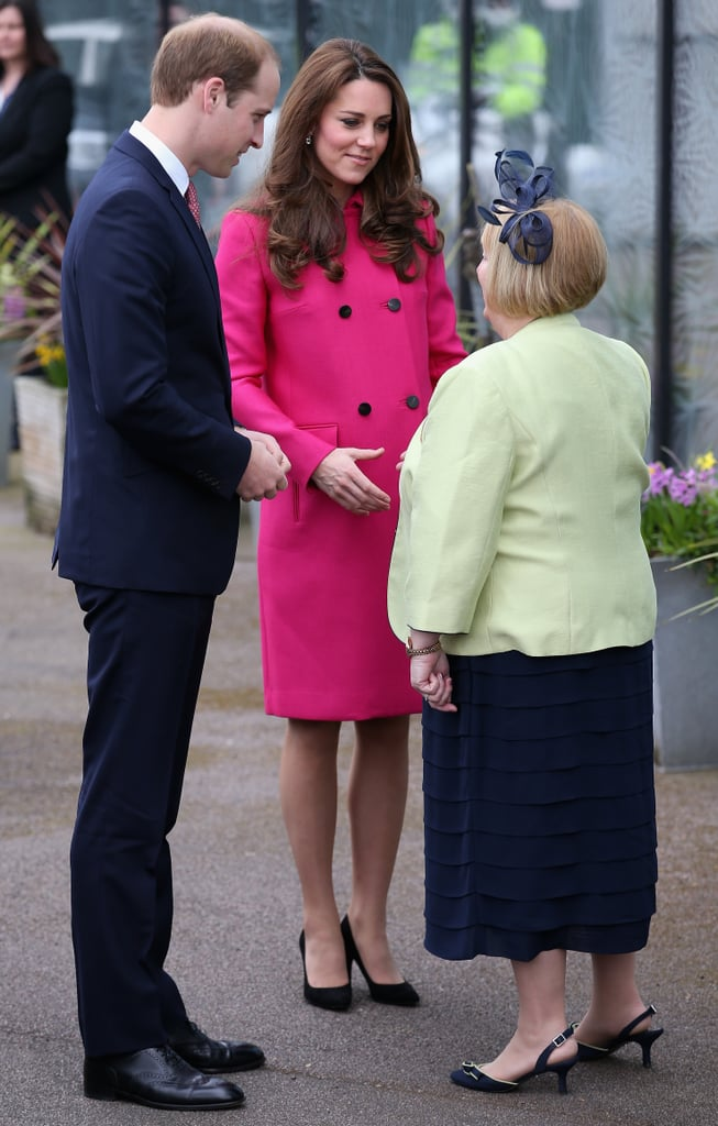 Kate Middleton's Last Pregnant Appearance March 2015 ...